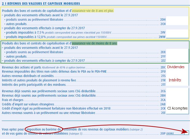 Revenus de capitaux mobiliers : comment en faire la déclaration ?